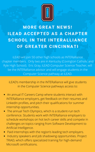 iLEAD Recognized as INTERalliance Chapter